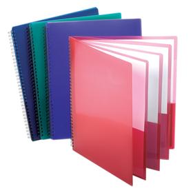 Esselte ESS5740404 Oxford 8 Pocket Organizer Assorted Cover Colors, Price/EA