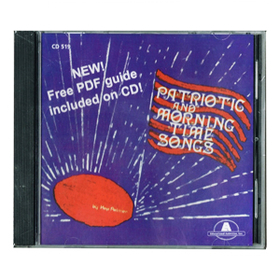 Educational Activities ETACD519 Patriotic And Morning Time Songs Cd, Price/EA
