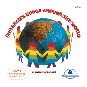Educational Activities ETACD56 Childrens Songs Around The World, Price/EA