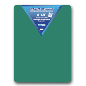 Flipside FLP10104 Green Chalk Board 18 X 24, Price/EA
