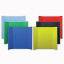 Flipside FLP3004506 Project Boards Assorted 6Pk 1 Each Of 6 Colors