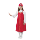 Childrens Factory FPH329G Ethnic Costumes Russian Girl