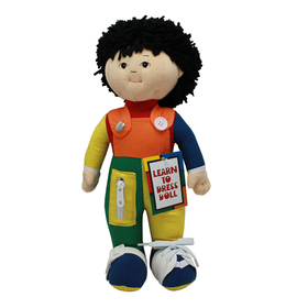 Childrens Factory FPH851 Learn To Dress Doll Asian Boy, Price/EA