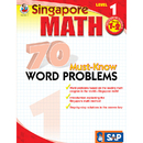 Carson Dellosa FS-014011 Singapore Math Level 1 Gr 1-2 70 Must Know Word Problems