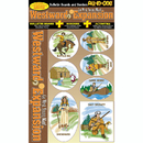 Gallopade GAL0635063832 Westward Expansion All-In-One Bb Set