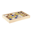 Guidecraft USA GD-5011 Texture Dominoes 25/Pk With Tray