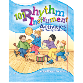 Gryphon House GR-15445 101 Rhythm Instrument Activities For Young Children, Price/EA