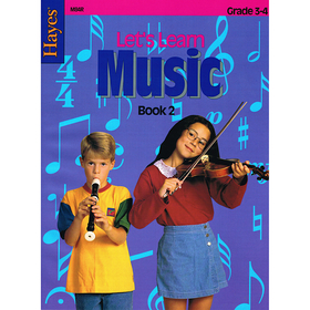 Hayes School Publishing H-M84R Lets Learn Music Book 2 Intermediate, Price/EA