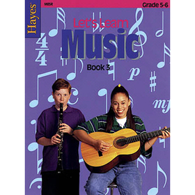 Hayes School Publishing H-M85R Lets Learn Music Book 3 Upper, Price/EA