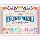 Flipside H-VA572 Certificates Science Fair 30/Pk - 8.5 X 11