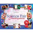 Hayes School Publishing H-VA672 Science Fair Participation 30Pk 8.5 X 11 Certificates Inkjet Laser