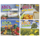 Capstone / Coughlan Pub HE-9781410947383 Abcs Alphabet Books Set Of All 4