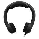 Hamilton Electronics Vcom HECKIDSBLK Flex-Phones Indestructible Blk Foam Headphones