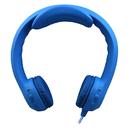 Hamilton Electronics Vcom HECKIDSBLU Flex-Phones Indestructible Blu Foam Headphones