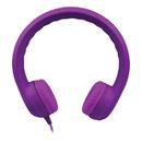Hamilton Electronics Vcom HECKIDSPPL Purple Indestructible Headphone