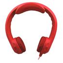 Hamilton Electronics Vcom HECKIDSRED Flex-Phones Indestructible Red Foam Headphones