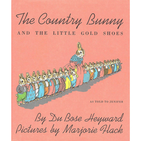 Houghton Mifflin Harcourt HO-395185572 The Ctry Bunny & The Little Gold Shoes, Price/EA