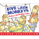Houghton Mifflin Harcourt HO-618496483 Five Little Monkeys Bake A Birthday Cake