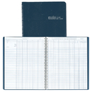 House Of Doolittle HOD51407 Class Record Book 9-10 Week Grading Period Blue Simulated Leather
