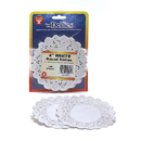 Hygloss Products HYG10041 Doilies 4 White Round 100/Pkg