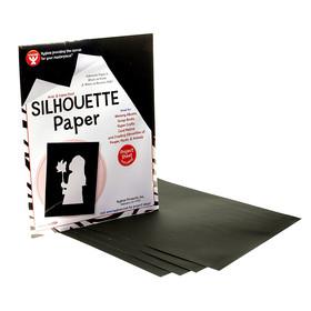 Hygloss Products HYG14851 Silhouette Paper 25 Shts Per Pk 8 1/2 X 11, Price/EA