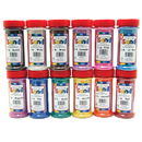 Hygloss Products HYG29129 Bucket O Sand 12 Asstd Colors 1 Lb Each