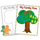 Hygloss Products HYG30145 Family Tree Poster