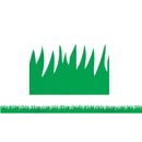 Hygloss Products HYG33601 Green Grass Mighty Brights Border