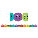 Hygloss Products HYG33610 Smiley Face Mighty Brights Border