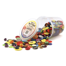 Hygloss Products HYG5516 Asst Buttons 16 Oz Bucket