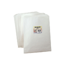 Hygloss Products HYG58550 Colorful Paper Bags 8.5X11 White 50 Pinch Bottom