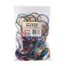 Hygloss Products HYG61353 Book Rings 1 1/2 50 Per Pack