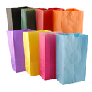 Hygloss Products HYG66288 Bags Sz 6 Gusseted Assorted Colors