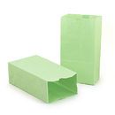 Hygloss Products HYG66519 Colored Craft Bags Lime Green