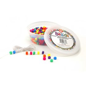 Hygloss Products HYG6832 Neon Barrel Beads, Price/EA