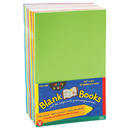 Hygloss Products HYG77705 Mighty Brights Books 5 1/2 X 8 1/2 32 Pages 10 Books Assorted Colors