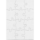 Hygloss Products HYG96213 Compoz A Puzzle 5.5X8In Rect 12Pc