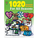 Carson Dellosa IF-4110 Sticker Book For All Seasons 1020Pk