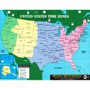 Carson Dellosa IF-652 Us & World Maps Learning Card - 8-1/2 X 11 Laminated