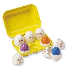 International Playthings INPTY1581 Hide N Squeak Eggs, Price/EA