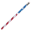 Pacon JRM7662B Pencils Glitz Stars & Stripes 12/Pk