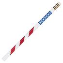 Pacon JRM7856B Pencils Stars & Stripes 12/Pk