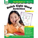Carson Dellosa KE-804105 The Big Book Of Dolch Sight Word Activities