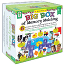 Carson Dellosa KE-840012 Big Box Of Memory Match Games Age 3+ Special Education
