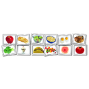 Carson Dellosa KE-845004 Photographic Learning Cards Nouns Food