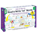 Carson Dellosa KE-846037 Write On/Wipe Off Read & Write 1St First Words Ages 4+