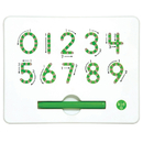 Kid O Products KID10347 A To Z Magnatab Numbers 0-9