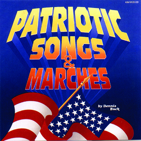 Kimbo Educational KIM9125CD Patriotic Songs & Marches Cd All Ages, Price/EA