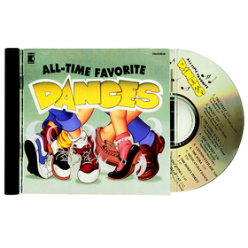 Kimbo Educational KIM9126CD All-Time Favorite Dances Cd, Price/EA