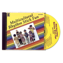 Kimbo Educational KIM9128CD Multicultural Rhythm Stick Fun Cd Ages 3-7